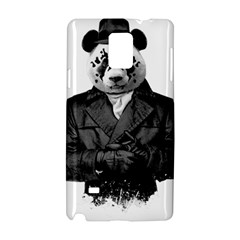Rorschach Panda Samsung Galaxy Note 4 Hardshell Case by jumpercat
