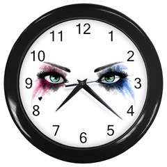 Look Of Madness Wall Clocks (black) by jumpercat
