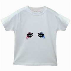 Look Of Madness Kids White T Shirts by jumpercat