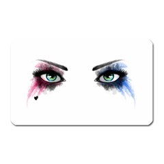 Look Of Madness Magnet (rectangular) by jumpercat