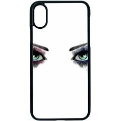 Look Of Madness Apple Iphone X Seamless Case (black) by jumpercat