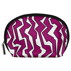 Electric Pink Polynoise Accessory Pouches (large)