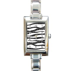 Hand Made Tentacle Rectangle Italian Charm Watch by jumpercat
