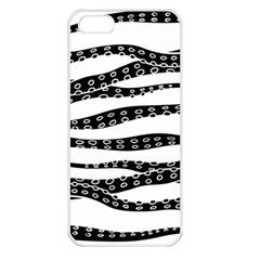Hand Made Tentacle Apple Iphone 5 Seamless Case (white)