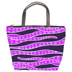 Purple Tentacles Bucket Bags by jumpercat