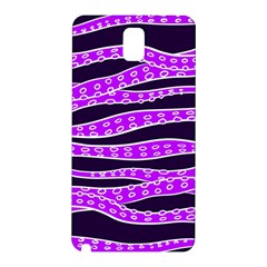 Purple Tentacles Samsung Galaxy Note 3 N9005 Hardshell Back Case by jumpercat
