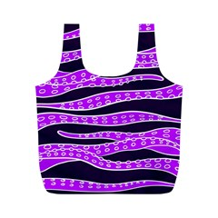 Purple Tentacles Full Print Recycle Bags (m)  by jumpercat