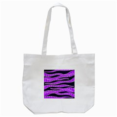 Purple Tentacles Tote Bag (white) by jumpercat
