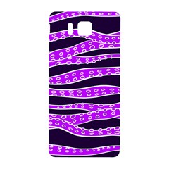 Purple Tentacles Samsung Galaxy Alpha Hardshell Back Case by jumpercat