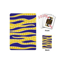 Yellow Tentacles Playing Cards (mini)  by jumpercat