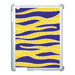Yellow Tentacles Apple Ipad 3/4 Case (white) by jumpercat