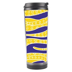 Yellow Tentacles Travel Tumbler by jumpercat