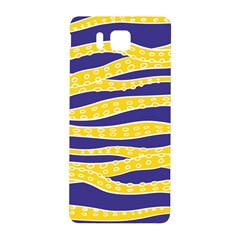Yellow Tentacles Samsung Galaxy Alpha Hardshell Back Case by jumpercat