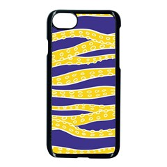 Yellow Tentacles Apple Iphone 7 Seamless Case (black) by jumpercat