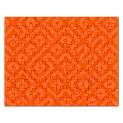Seamless Pattern Design Tiling Rectangular Jigsaw Puzzl