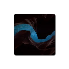 Abstract Adult Art Blur Color Square Magnet