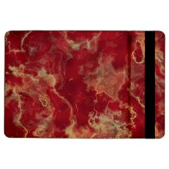 Marble Red Yellow Background Ipad Air 2 Flip