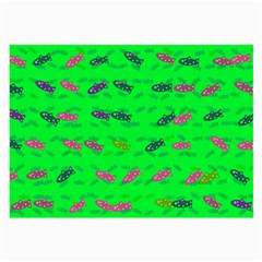 Fish Aquarium Underwater World Large Glasses Cloth (2 Side) by Nexatart