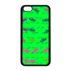 Fish Aquarium Underwater World Apple Iphone 5c Seamless Case (black)