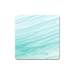 Texture Seawall Ink Wall Painting Square Magnet