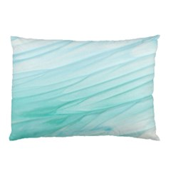 Texture Seawall Ink Wall Painting Pillow Case