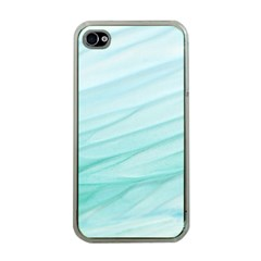 Texture Seawall Ink Wall Painting Apple Iphone 4 Case (clear)