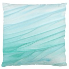 Texture Seawall Ink Wall Painting Large Flano Cushion Case (two Sides)