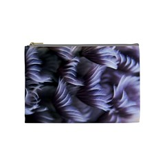 Sea Worm Under Water Abstract Cosmetic Bag (medium)