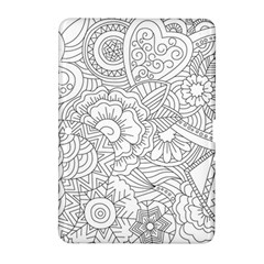 Ornament Vector Retro Samsung Galaxy Tab 2 (10 1 ) P5100 Hardshell Case  by Nexatart