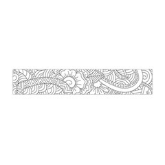 Ornament Vector Retro Flano Scarf (mini)
