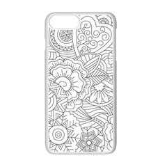 Ornament Vector Retro Apple Iphone 7 Plus Seamless Case (white) by Nexatart