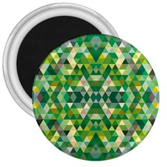Forest Abstract Geometry Background 3  Magnets