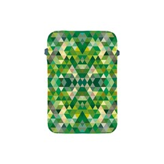 Forest Abstract Geometry Background Apple Ipad Mini Protective Soft Cases by Nexatart