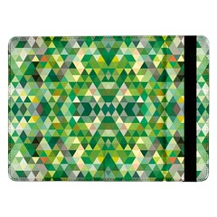 Forest Abstract Geometry Background Samsung Galaxy Tab Pro 12 2  Flip Case by Nexatart
