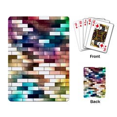 Background Wall Art Abstract Playing Card by Nexatart