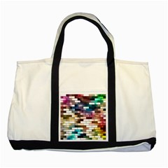 Background Wall Art Abstract Two Tone Tote Bag