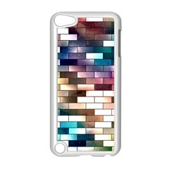 Background Wall Art Abstract Apple Ipod Touch 5 Case (white) by Nexatart