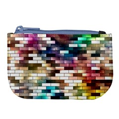 Background Wall Art Abstract Large Coin Purse by Nexatart