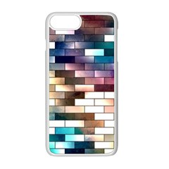 Background Wall Art Abstract Apple Iphone 8 Plus Seamless Case (white) by Nexatart