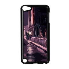 Texture Abstract Background City Apple Ipod Touch 5 Case (black)
