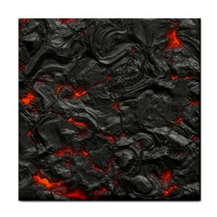 Rock Volcanic Hot Lava Burn Boil Tile Coasters