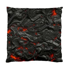 Rock Volcanic Hot Lava Burn Boil Standard Cushion Case (two Sides)