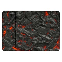Rock Volcanic Hot Lava Burn Boil Samsung Galaxy Tab 8 9  P7300 Flip Case by Nexatart