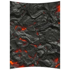 Rock Volcanic Hot Lava Burn Boil Back Support Cushion by Nexatart