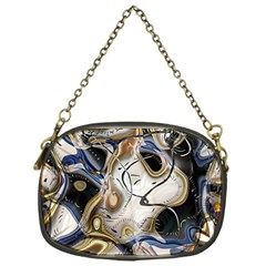 Time Abstract Dali Symbol Warp Chain Purses (one Side)  by Nexatart