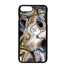 Time Abstract Dali Symbol Warp Apple Iphone 8 Plus Seamless Case (black)