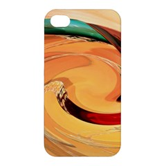Spiral Abstract Colorful Edited Apple Iphone 4/4s Hardshell Case by Nexatart
