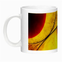 Abstract Water Oil Macro Night Luminous Mugs
