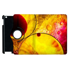 Abstract Water Oil Macro Apple Ipad 3/4 Flip 360 Case by Nexatart