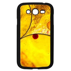 Abstract Water Oil Macro Samsung Galaxy Grand Duos I9082 Case (black) by Nexatart
